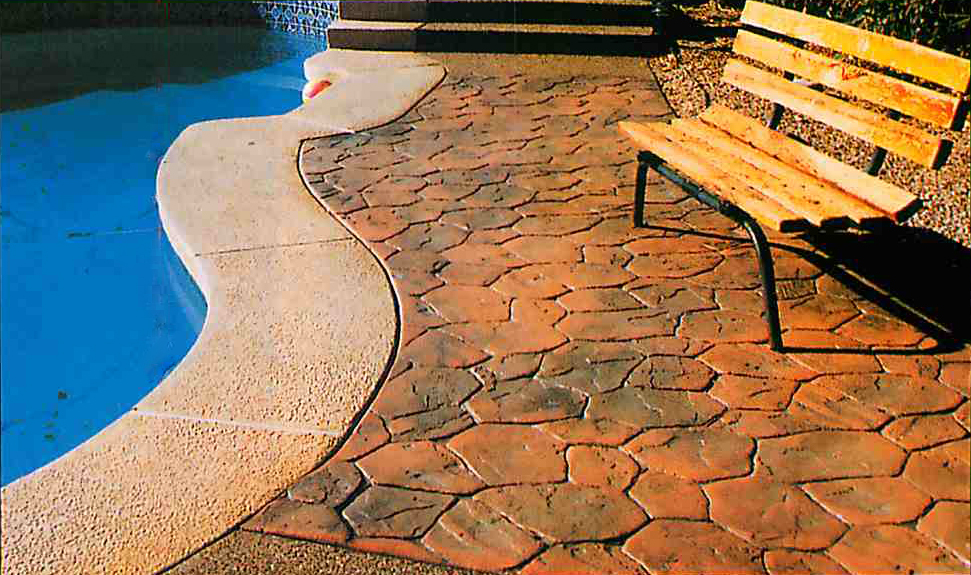 Stamped Concrete Access Concrete Residential And