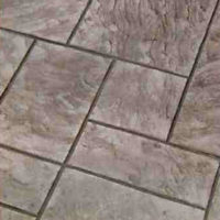 Royal Ashler Slate - custom concrete Calgary stamped concrete textures, designs and patterns